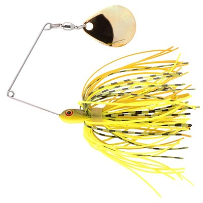 Micro Ringed Spinnerbait 5 g Chartreuse Belly