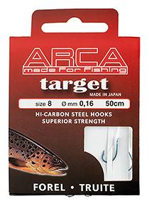Target Forel/truite onderlijn 50 cm