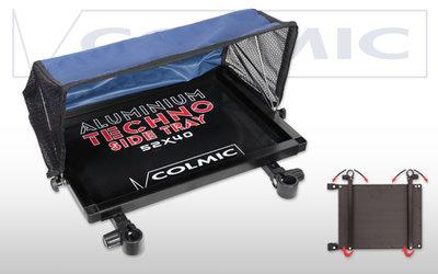 COLMIC Aluminium side tray met kap verkrijgbaar in 3 verschillende maten
