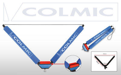 "COLMIC ROLLER ""V"" 40 cm: RED SMALL ROLLERS"