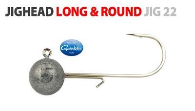 Spro Round jig head met gamakatsu jig 22/ #2/0 - 5g