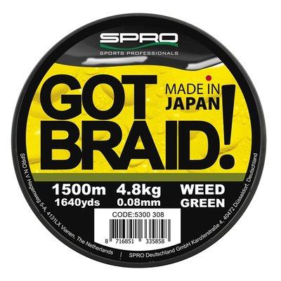 GOT BRAID! - Weed Green 300 m