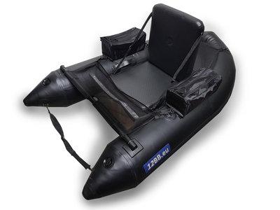12BB - Belly Boat, type STEALTH NP 2018/2019 met opblaasbaare zitting&bodem (geen peddels)
