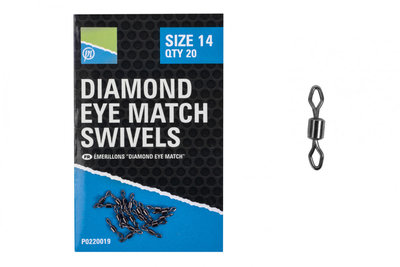 DIAMOND EYE MATCH SWIVELS
