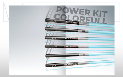COLMIC POWER KIT: OVERSIZE COLORFULL POWER K40 (W/O Hole) (2,90mt