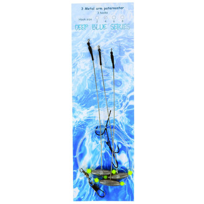 Albatros Flat out Rig 3 arms / 3 hooks   #4 - 10g