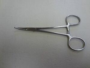 Arca Forceps / aderklem kromme punt 15 cm