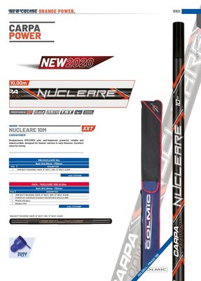 COLMIC PACK - NUCLEARE 10,00mt