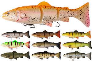 3D Trout Line Thru 15 cm / 35g golden Albino Rainbow