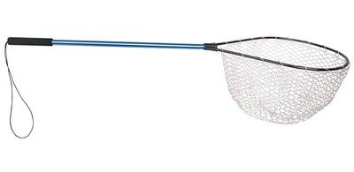 Spro Rubber mesh landing net / Blue