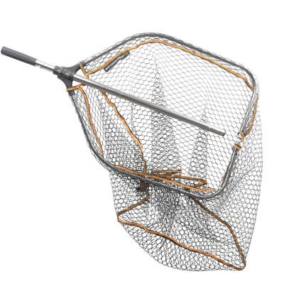 Savage Gear Pro Tele Folding Rubber Large Mesh Landing Net