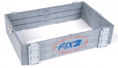 FIX2 - verhogingkader 105 mm module 4520 XK3