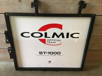 Colmic Side tray super big ST-1000 aluminium (incl. 2 poten)