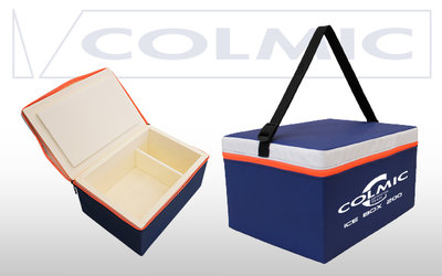 Colmic polystyrene case: Ice box 300