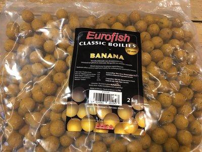 Eurofish classic boilies Banana 20mm / 2kg