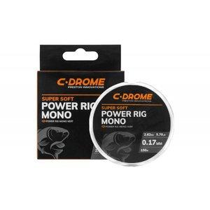 Preston C-Drome Power rig mono 0.19mm/ UIT ONS ASSORTIMENT!!