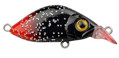 Trout Master Flat Mini Crank 30 Black Red