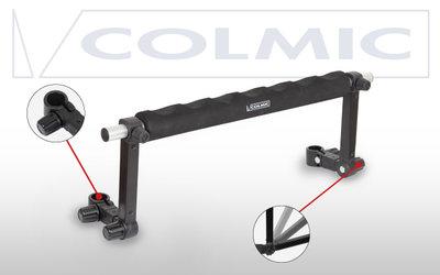 COLMIC Verstelbare frontbar met neoprene / pole bar