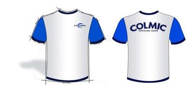 T-SHIRT COLMIC (WHITE & BLUE)